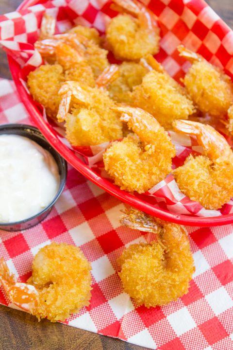 10 Best Fried Shrimp Recipes How To Fry Shrimp Delish Com