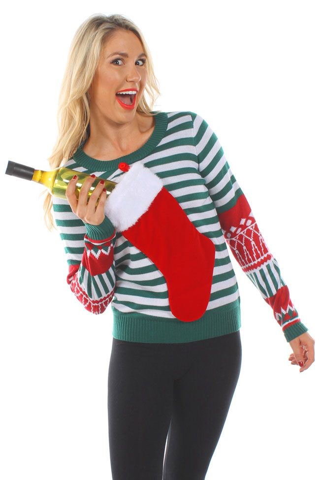 Make Bad Santa Proud In This Ugly Sweater That Holds An