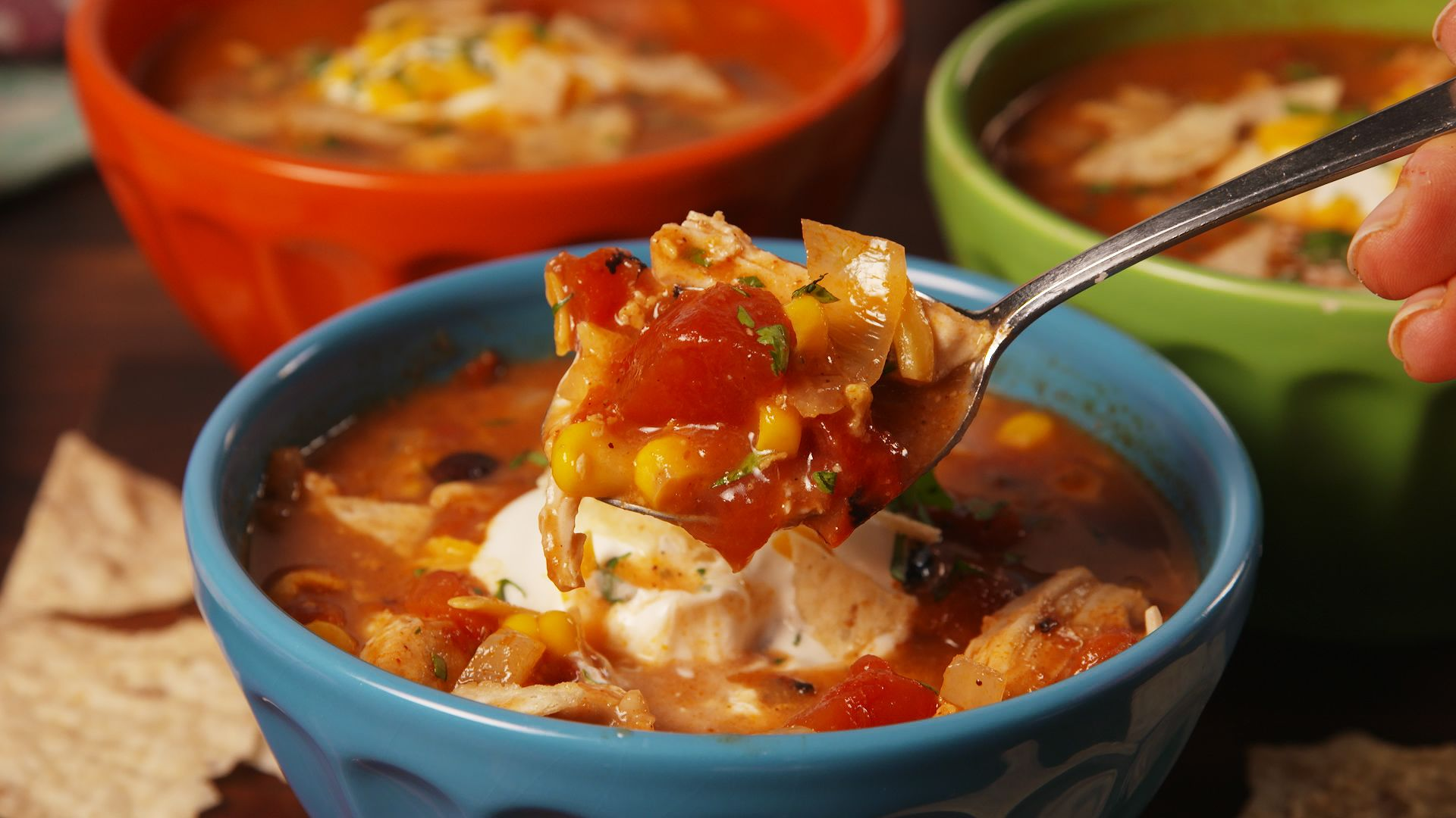 Best Crock Pot Chicken Enchilada Soup Recipe How To Make Crock Pot