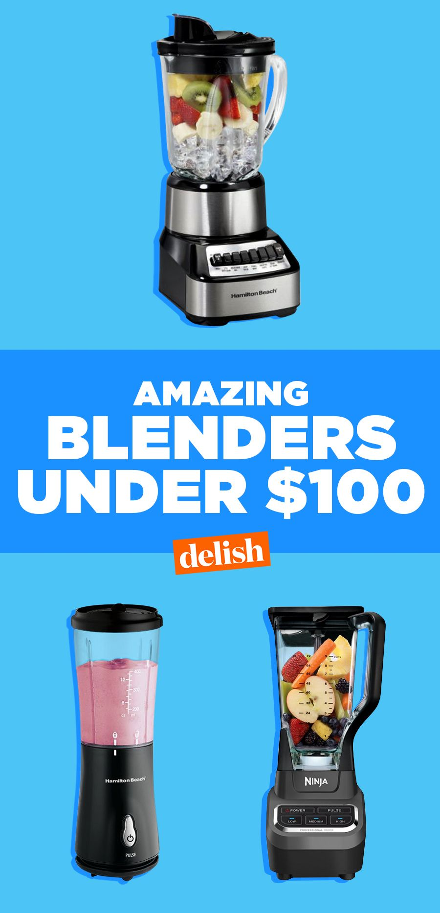 10 Best Blenders Under $100 - Top Rated Cheap Blenders 2017—Delish.com