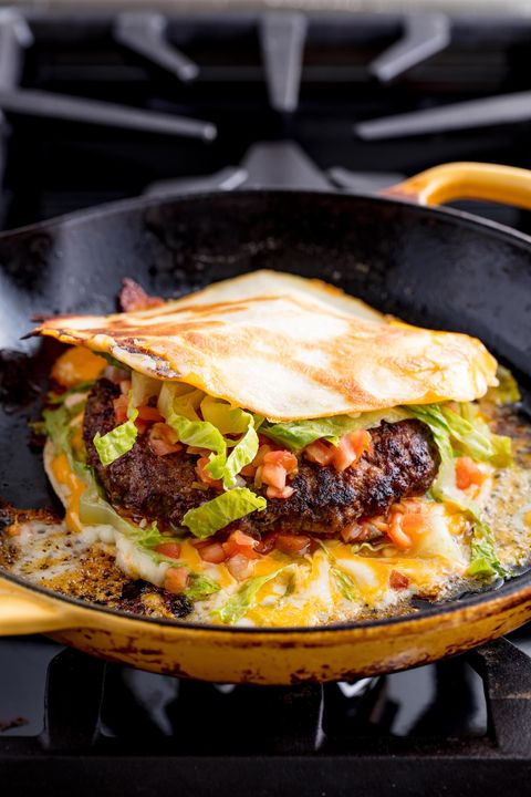 Quesadilla Burger Vertical
