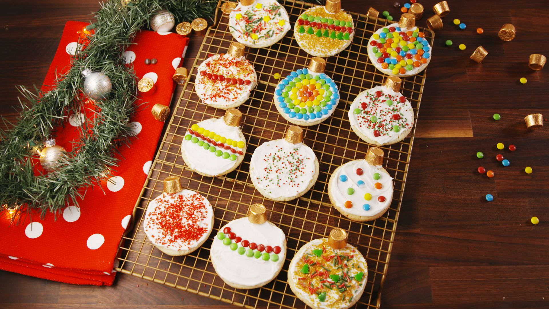 Rolo Ornament Cookies