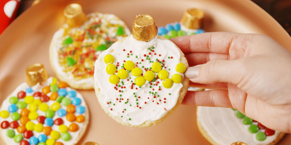 Baking Rolo Ornament Cookies Video Rolo Ornament Cookies