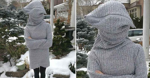 This 'Leave Me Alone Sweater' Is the Gift Every Introvert Needs