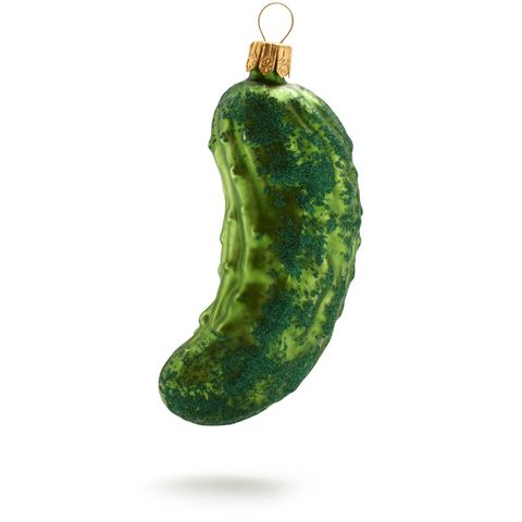 pickle christmas tree ornaments