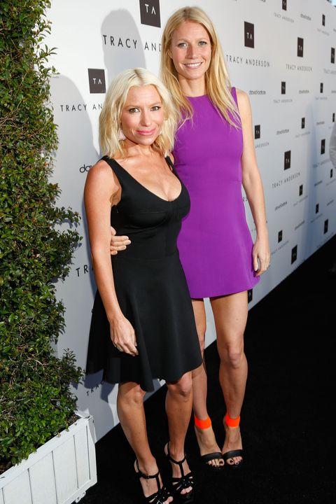 Gwyneth Paltrow and Tracy Anderson