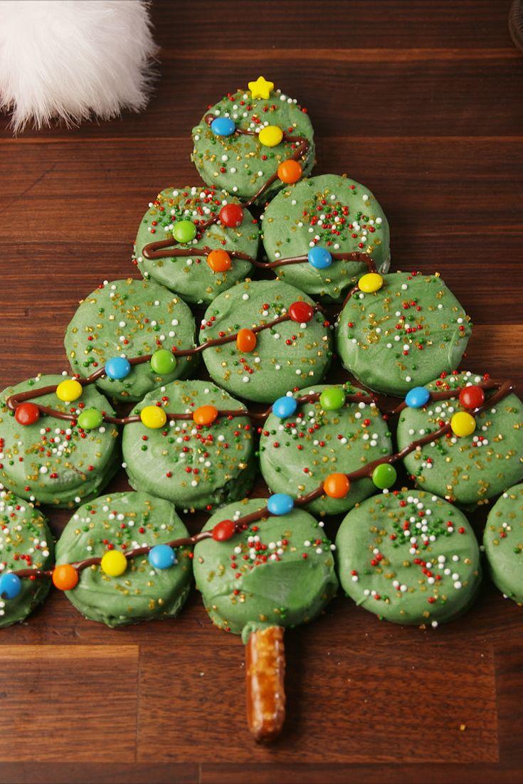 25 Cute Christmas Treats Easy Recipes For Holiday Treats Delish Com