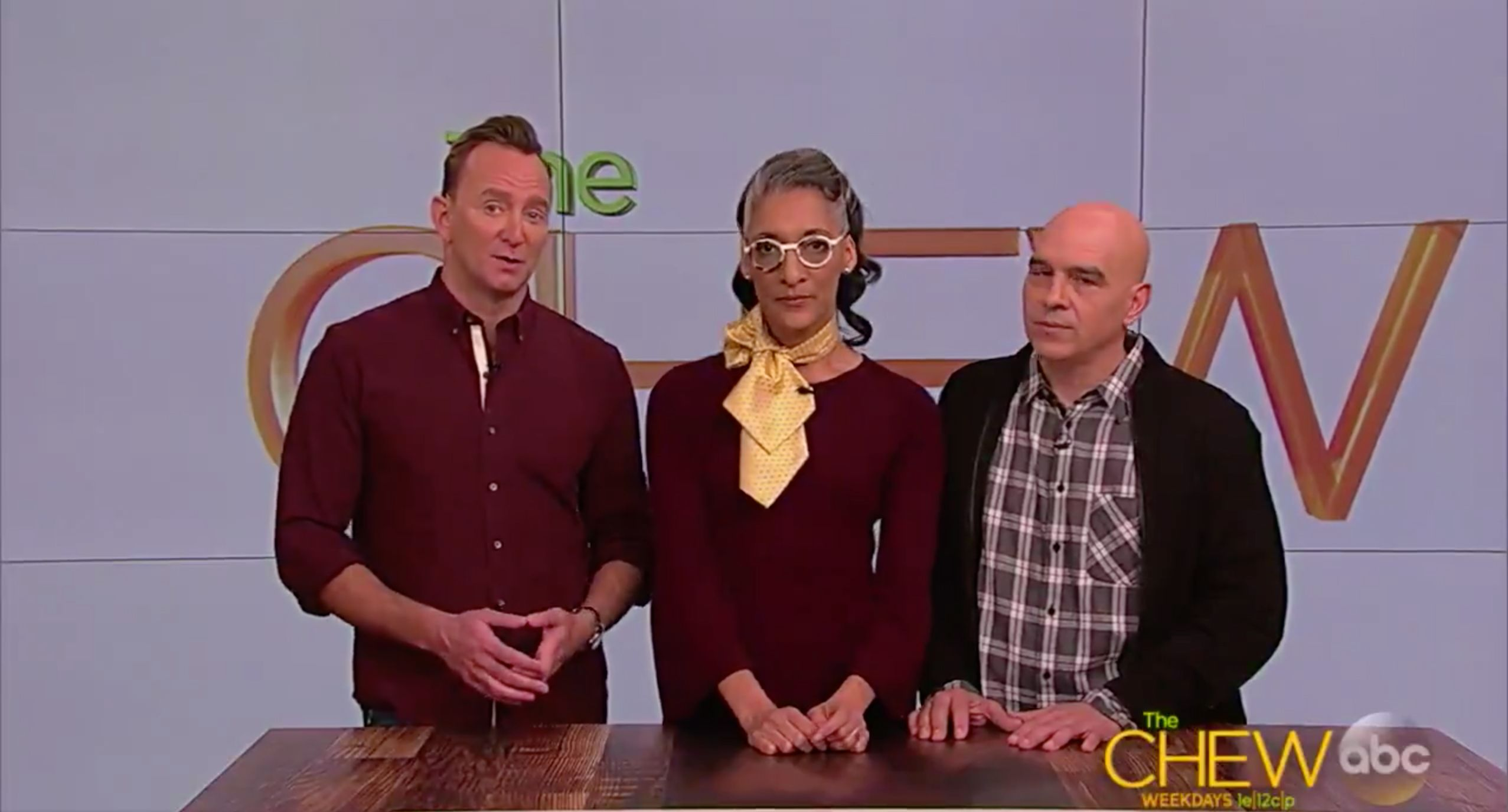the chew hosts give statement about mario batali carla hall