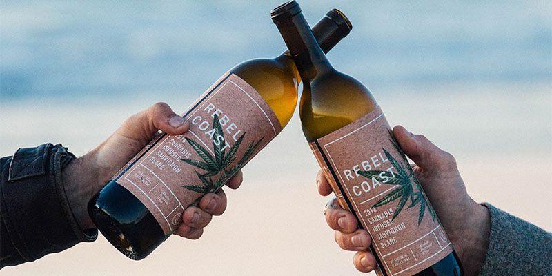 cannabis infused wine