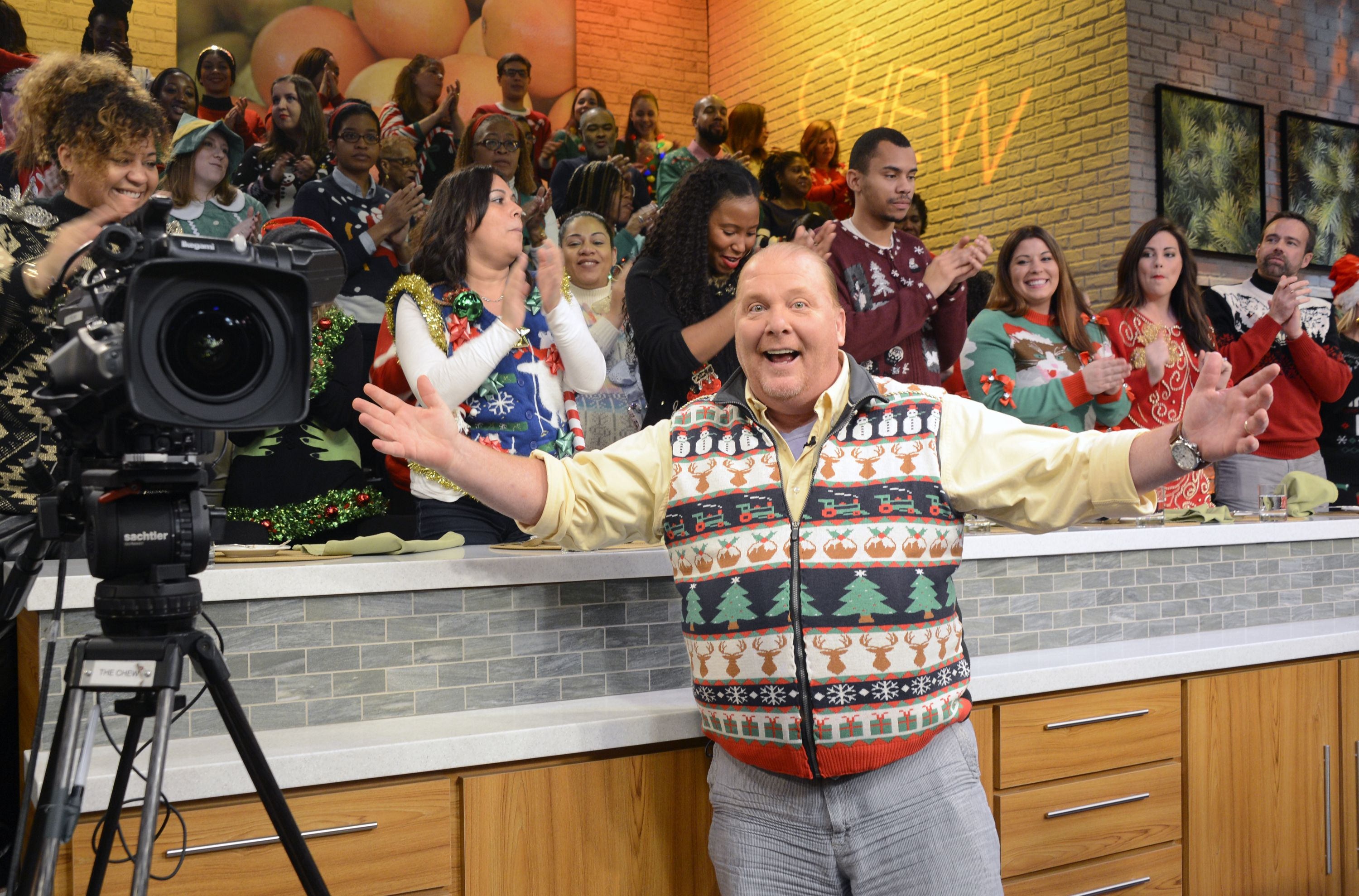Mario Batali Has Been Officially Fired From The Chew