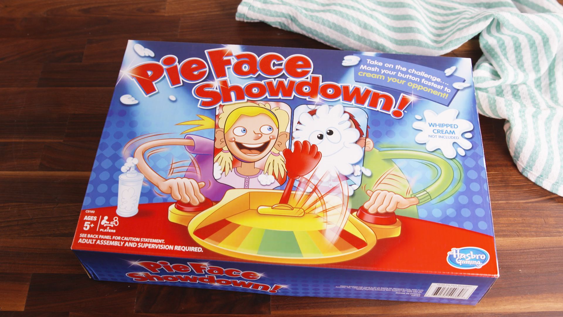 Lacarla Cream Fun Pie Face Game Showdown Battle Version Multi Colour Source · Game Mainan Lucu