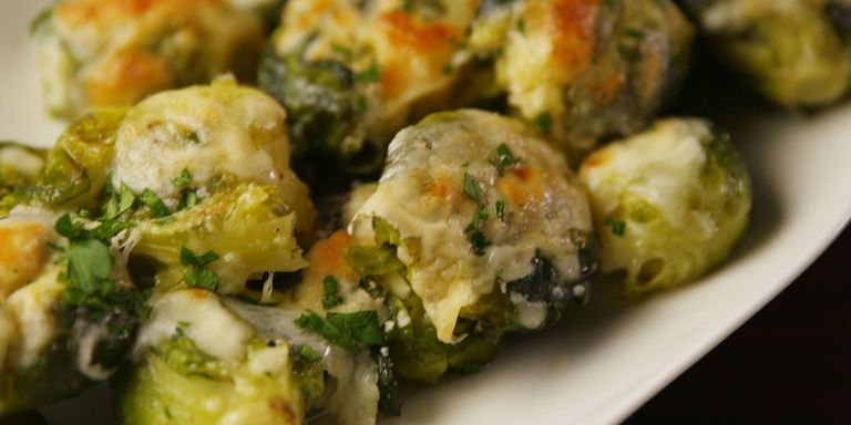 70 christmas dinner side dishes recipes for best holiday sides smashed brussels sprouts forumfinder Gallery