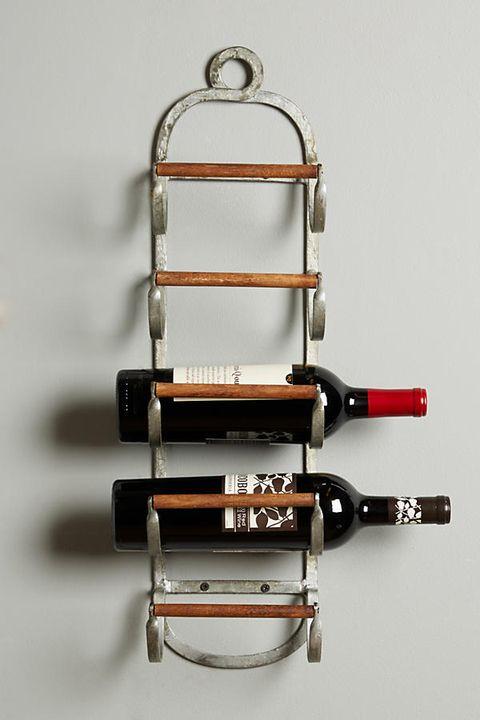 Wine bottle, Metal,
