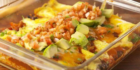 Low Carb Breakfast Enchiladas