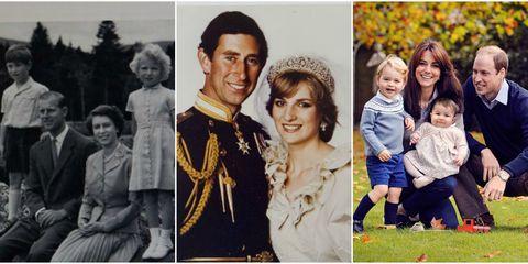 royal family christmas cards philip elizabeth charles diana kate middleton prince william george charlotte