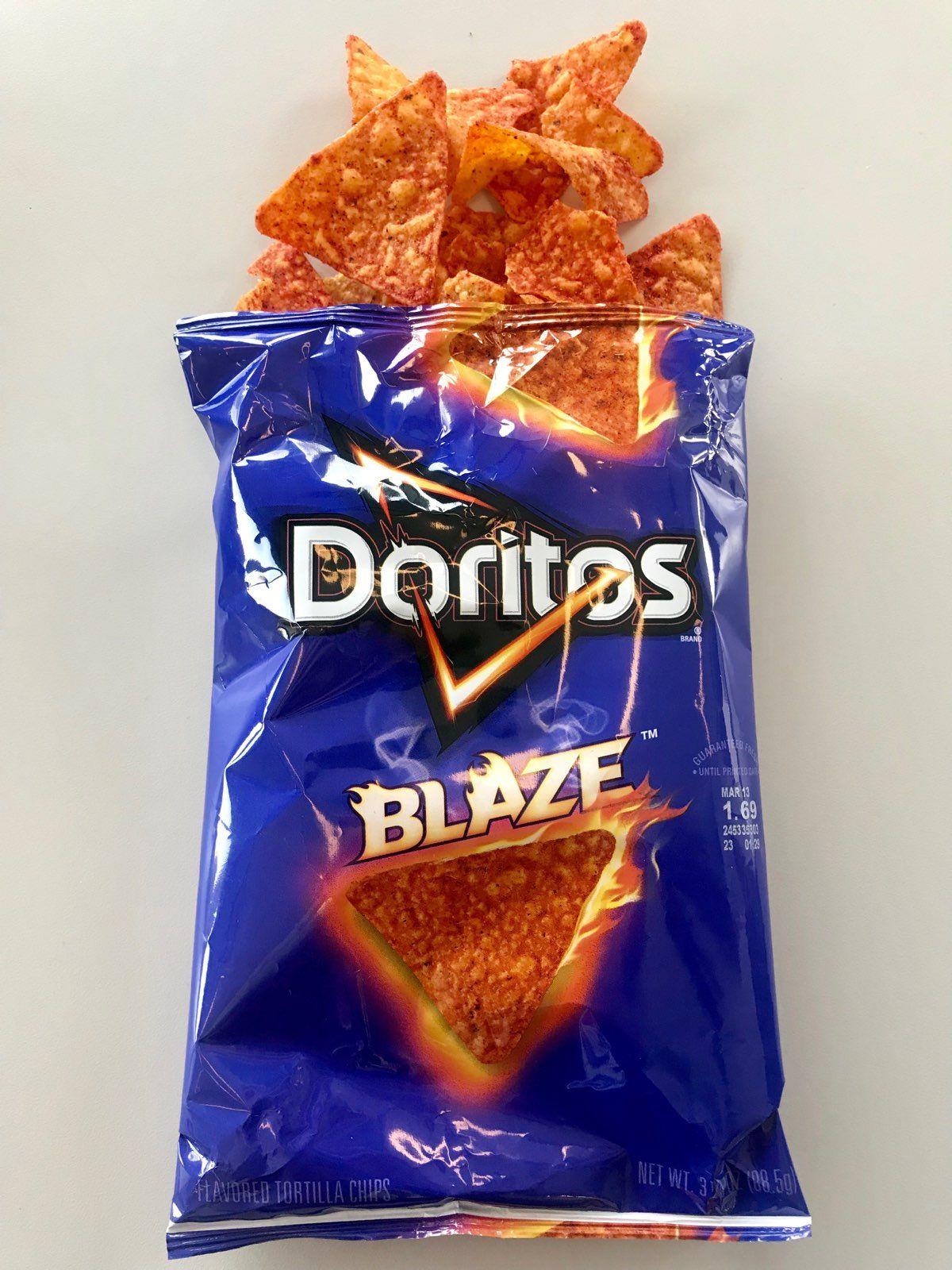 This New Doritos Flavor Smells Like Hot Sauce