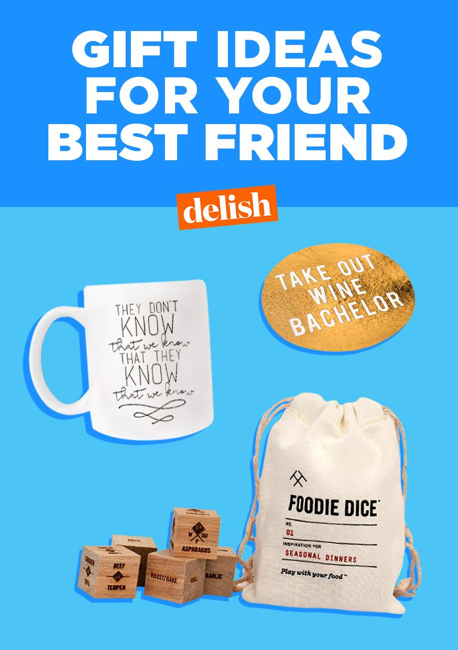 20+ Best Friend Gift Ideas - Cute Gifts For Your Best Friend for ...