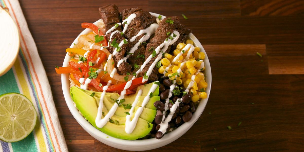 Steak Fajita Power Bowls