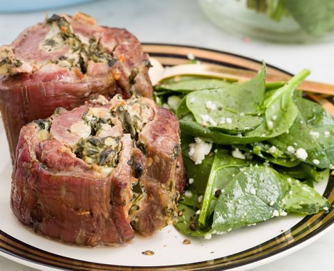 Spinach-and-Artichoke Steak Roll-Ups Horizontal