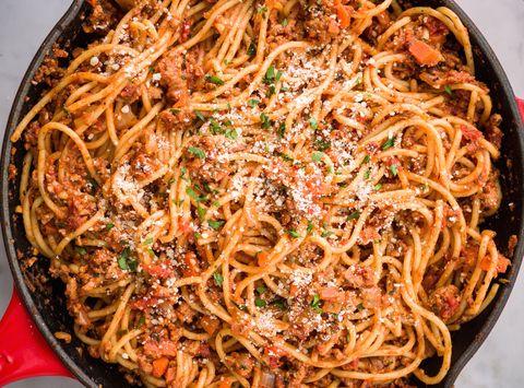 Spaghetti with Turkey Ragu Horizontal