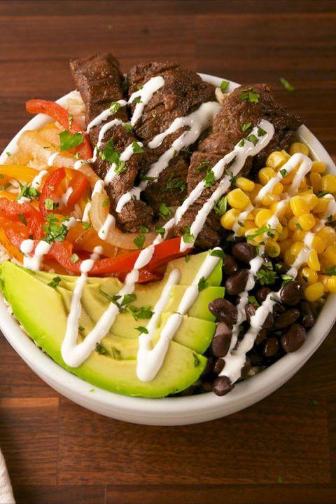 Steak Fajita Power Bowls Vertical