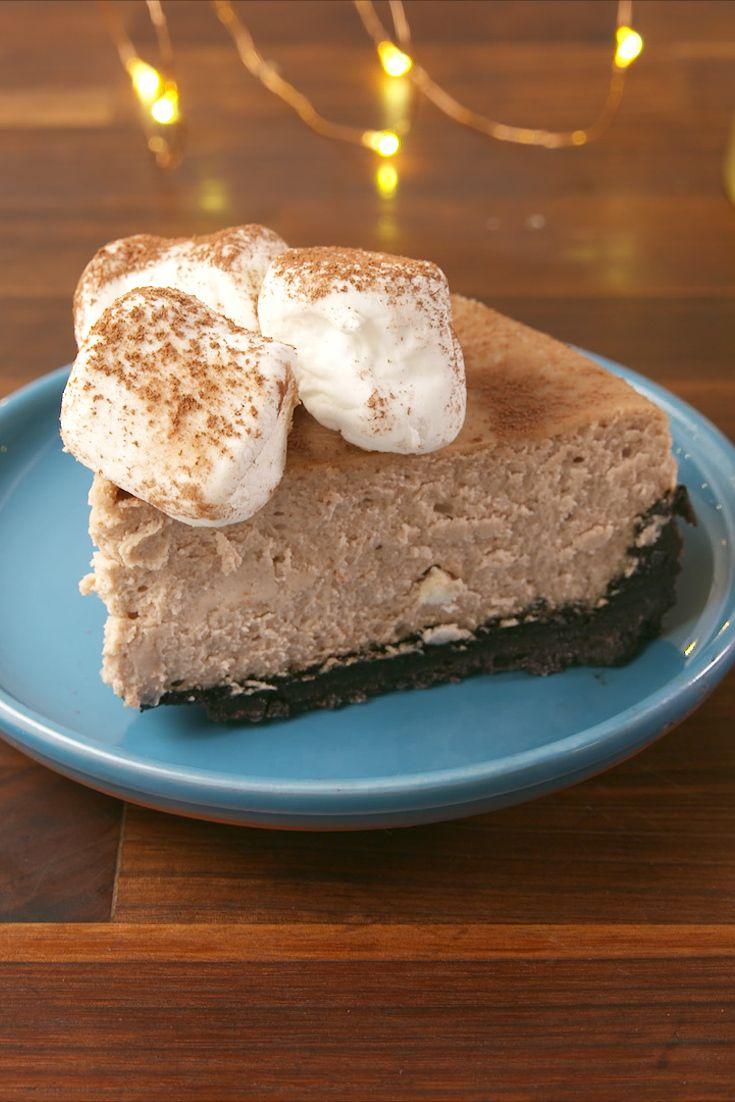 Hot Cocoa Cheesecake Vertical