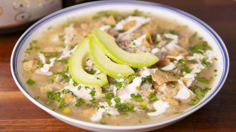Crock-Pot Salsa Verde Soup
