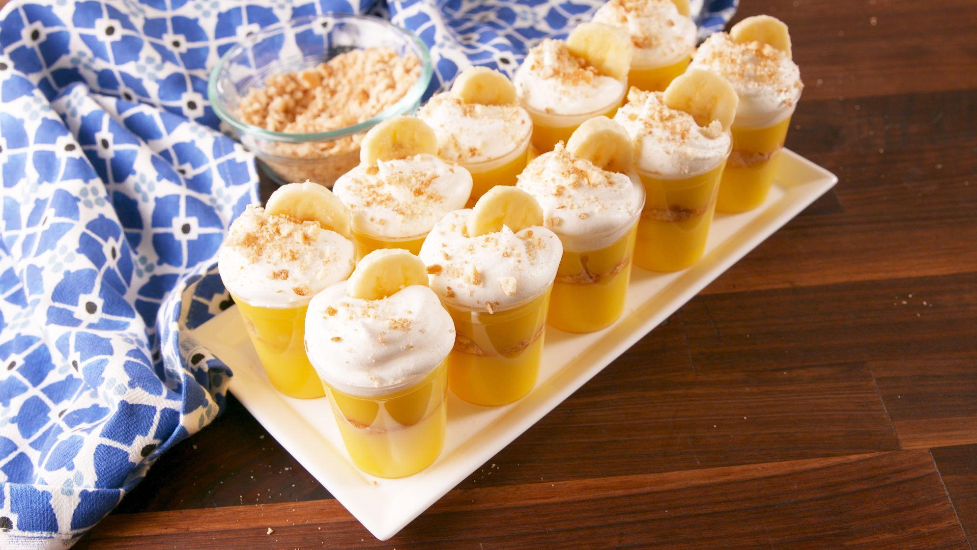 Best Banana Pudding Shot Recipe How to Make Banana Pudding Shots