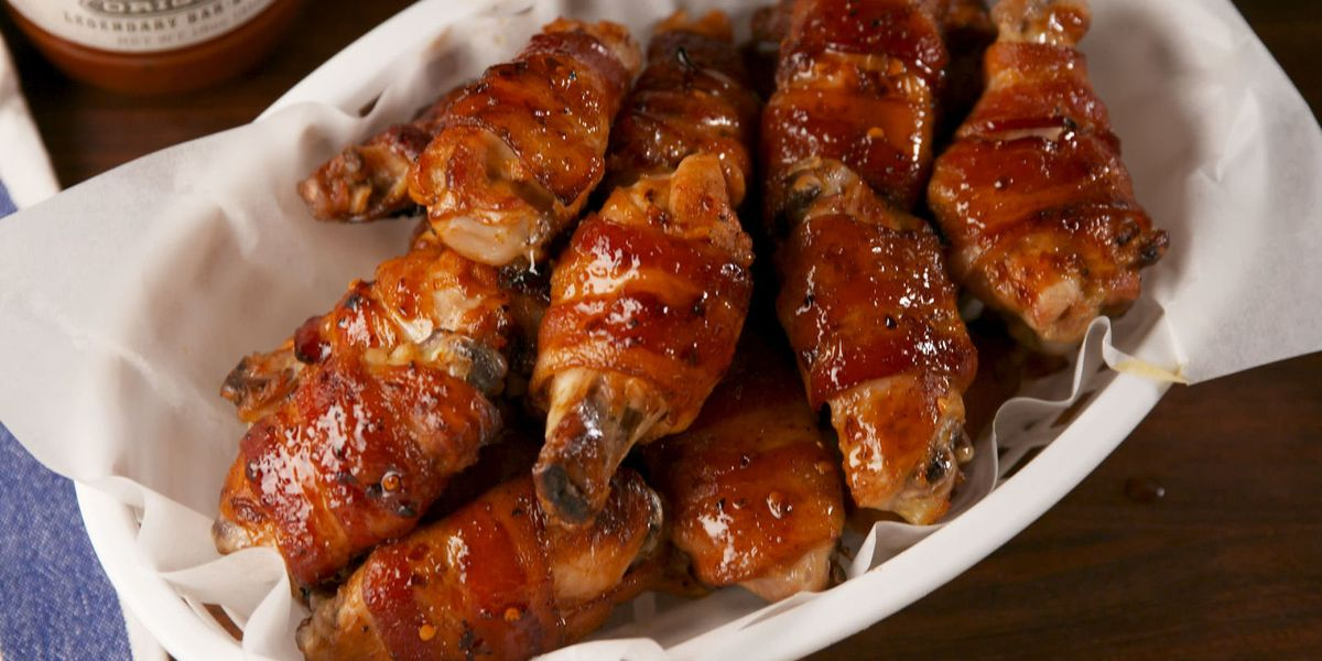 Best Maple Bacon Wings Recipe How To Make Maple Bacon Wings