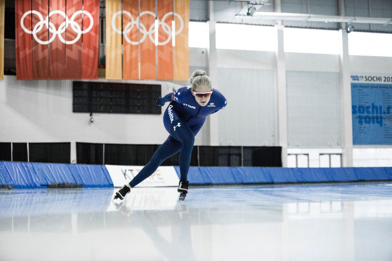 Speed skaters diet plan