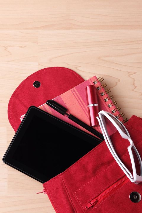 Red, Wallet, Leather, Fashion accessory, Magenta,