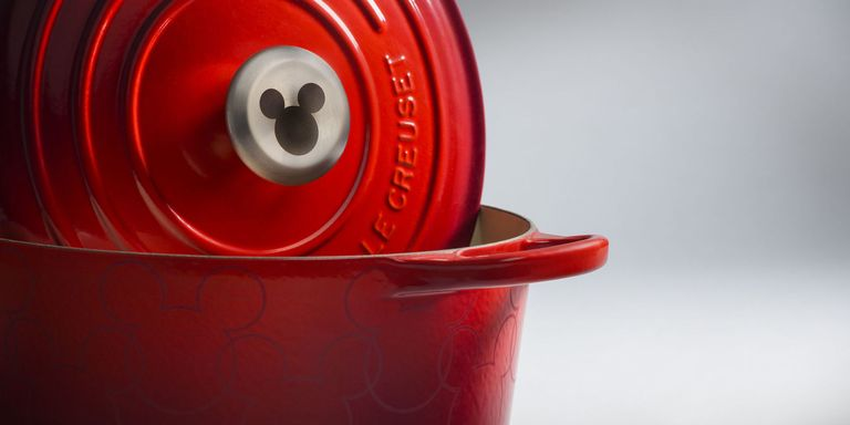 Le Creuset just released a new Mickey Mouse collection