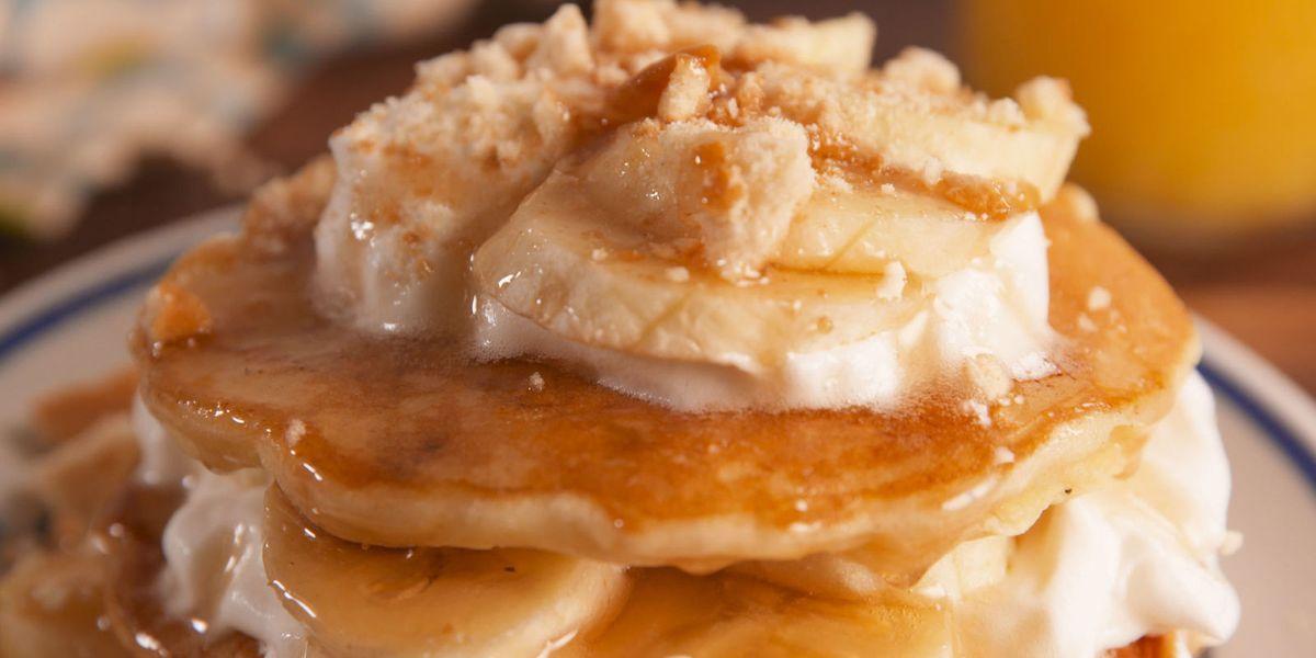 Best Banana Pudding Pancakes Recipe How To Make Banana