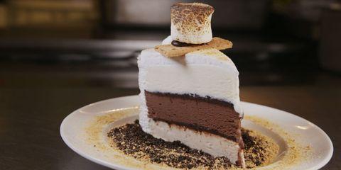 Food, Dish, Dessert, Cake, Cuisine, Frozen dessert, Baked goods, Ingredient, Buttercream, Cream,