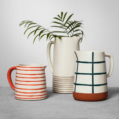 Flowerpot, Serveware, Orange, Jug, Mug, Tableware, Drinkware, Ceramic, Cup, Houseplant,