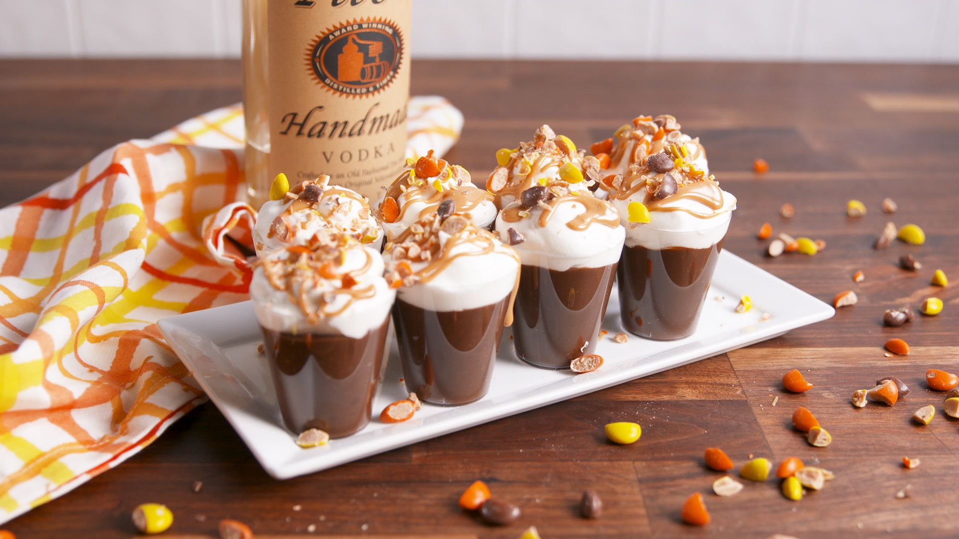 Best Reeses Cup Pudding Shot Recipe How to Make Reeses Cup