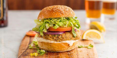 Salmon Burgers - Delish.com
