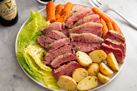 03f64975 Slow Cooker Corned Beef & Cabbage Horizontal. Ethan Calabrese. In March, St.  Patrick's Day ...
