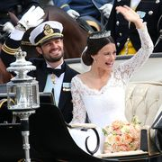 Carriage, Vehicle, Ceremony, Event, Dress, Car, Formal wear, Suit, Wedding, Official,
