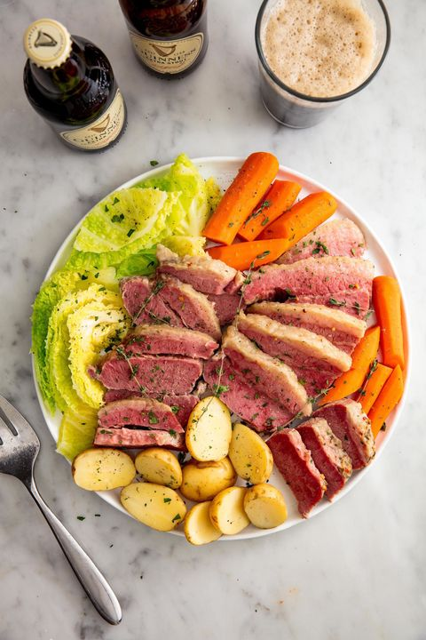 Slow Cooker Corned Beef & Cabbage Vertical