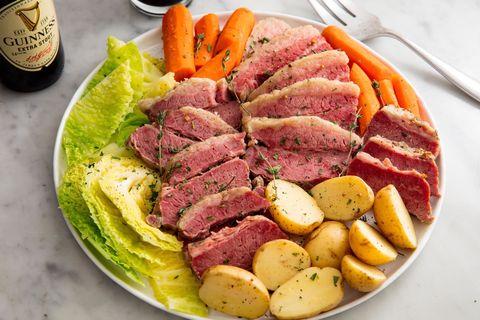Slow Cooker Corned Beef & Cabbage Horizontal