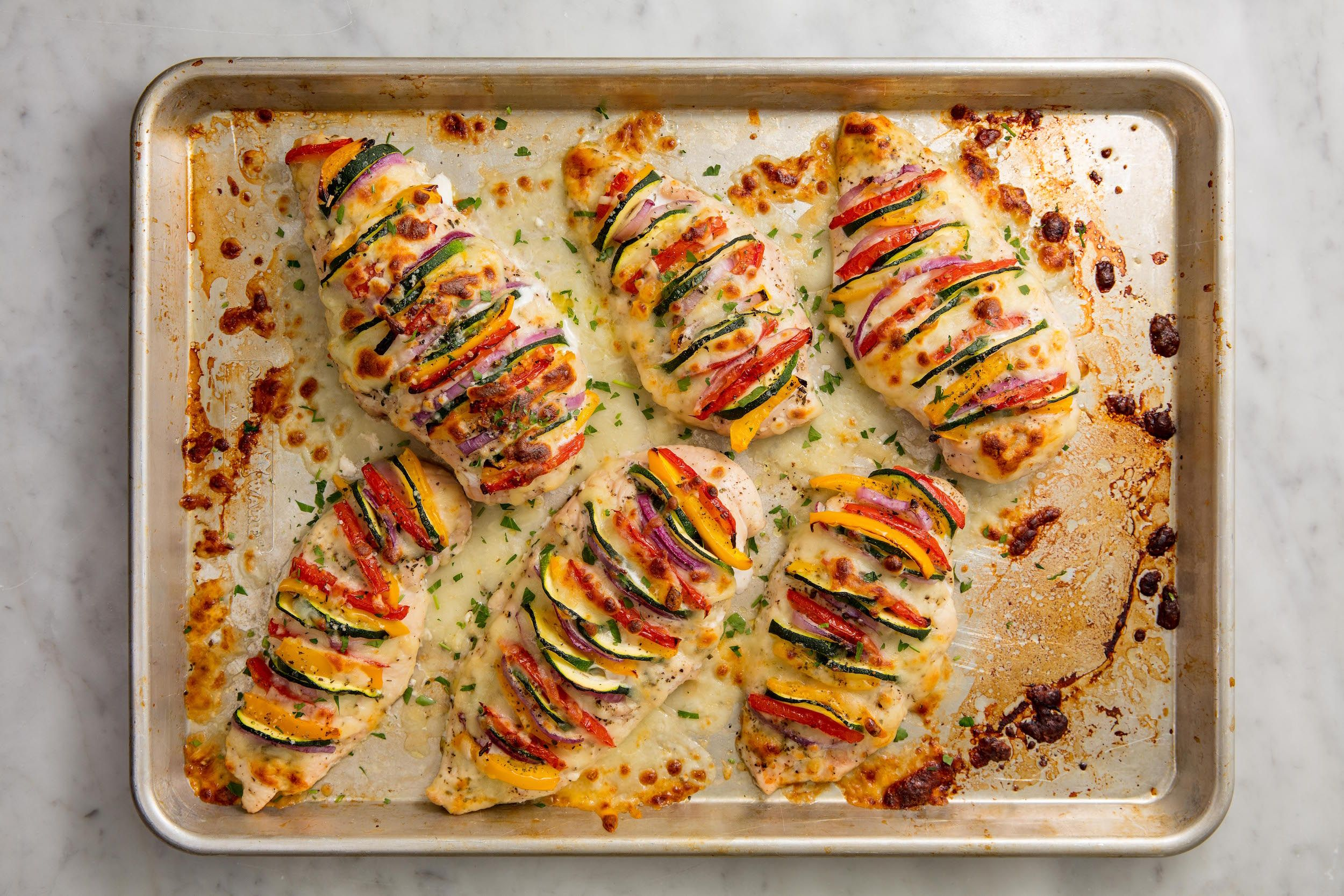 How to cook chicken breast to shred in oven at 400