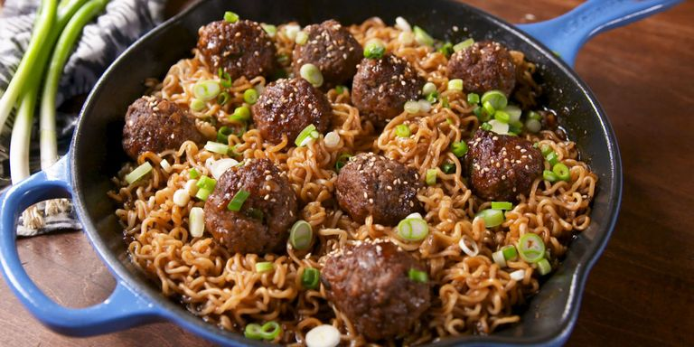 70 authentic chinese food recipes how to make chinese food mongolian meatball ramen forumfinder Choice Image