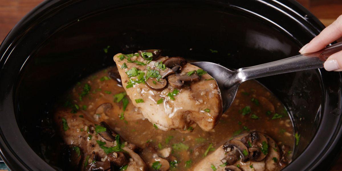 Crock-Pot Chicken Marsala
