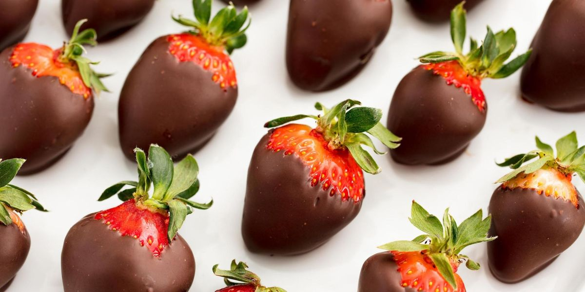How To Make Chocolate Covered Strawberries Recipe Delish Com