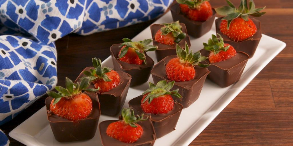 Best Chocolate Covered Strawberry Bites Recipe How To Make Chocolate Covered Strawberry Bites