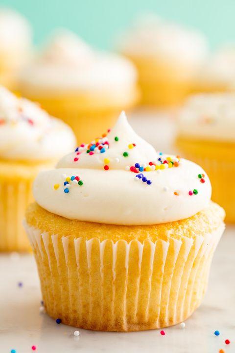 Vanilla Cupcake Vertical