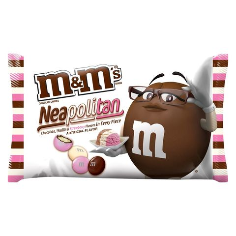 Neapolitan M&Ms