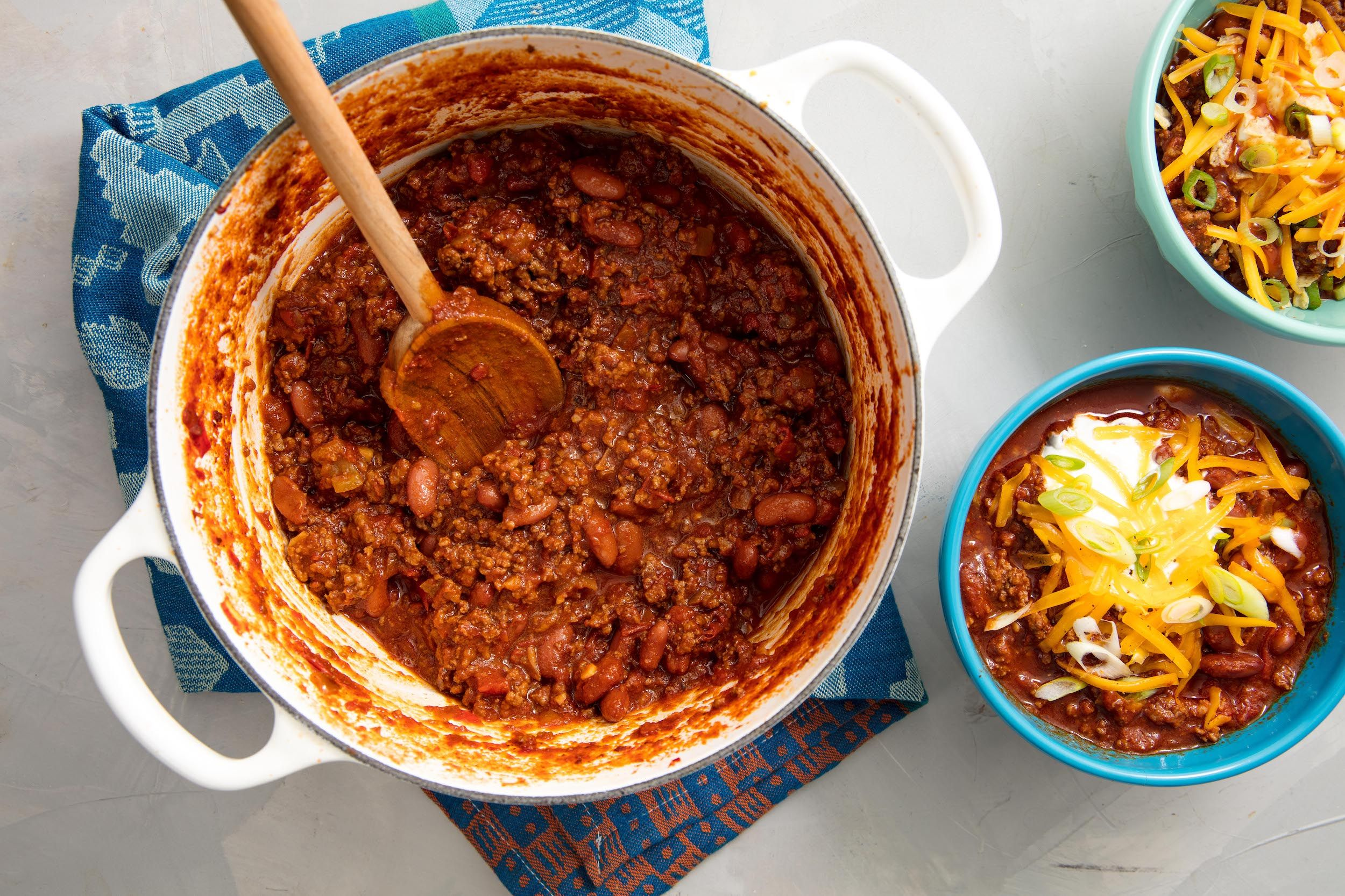 Best Beef Chili Recipe How To Make Easy Homemade Chili