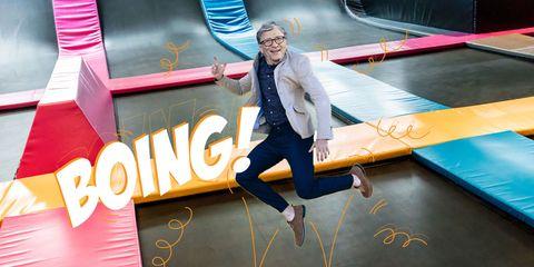 Bill Gates Tells Ellen Degeneres He Has A Trampoline Room In His House